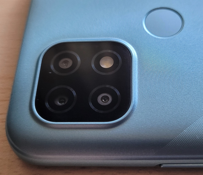 The main camera system on the realme C21