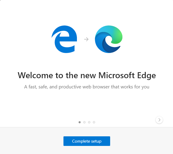 The legacy Microsoft Edge has been removed from Windows 10