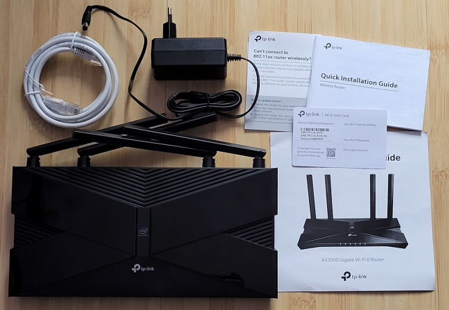 Unboxing the TP-Link Archer AX50