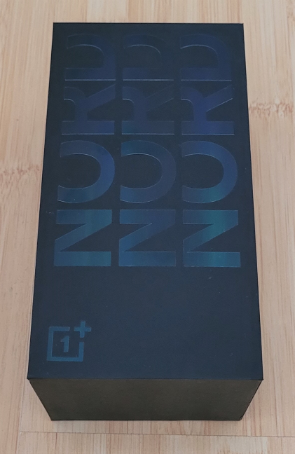 OnePlus Nord CE 5G - The retail box
