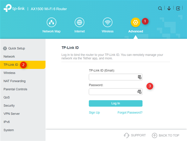 Add your TP-Link ID