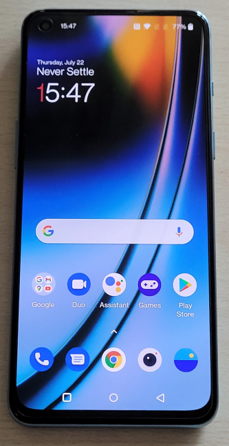 OnePlus Nord2 5G has an AMOLED display