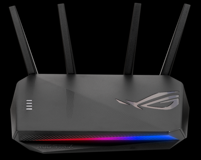 ASUS ROG STRIX GS-AX5400 - a wireless router for gamers