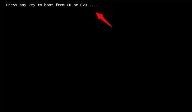 Starting the Windows 11 install wizard