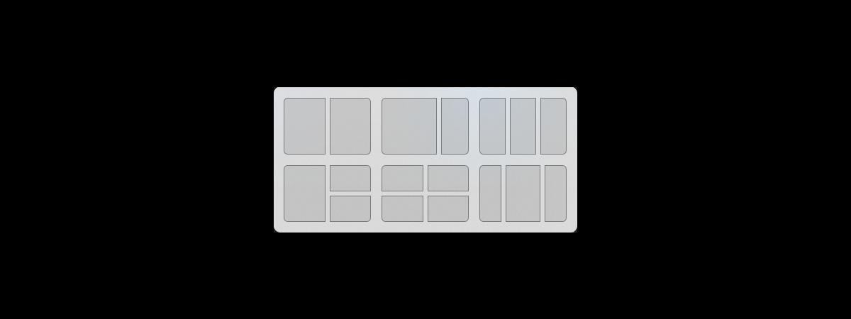 Snap layouts