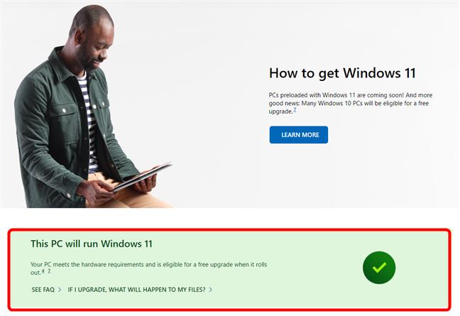 This PC will run Windows 11