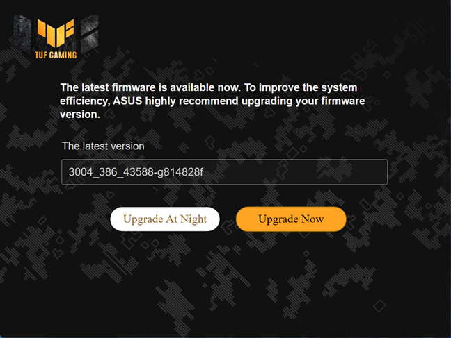 It is a good idea to install the latest firmware