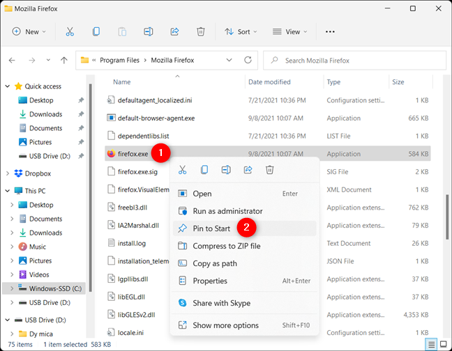How to pin to Start from an app's EXE file