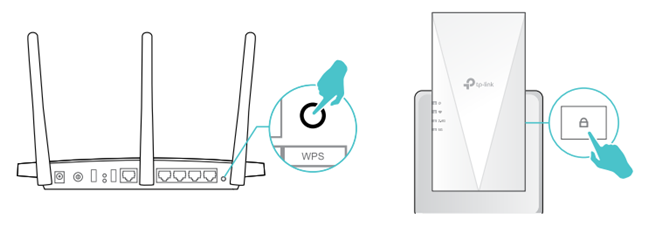 Setting up TP-Link OneMesh through WPS is the fastest