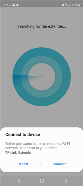 Connect to the TP-Link range extender