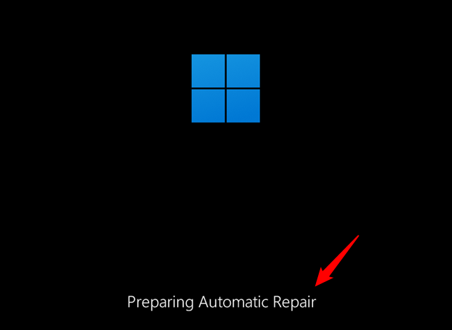 How to start Windows 11 in Safe Mode using automatic repair