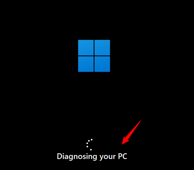Windows 11 is diagnosing your PC