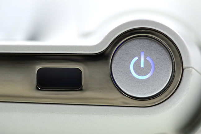 Press the power button on your Windows 11 desktop PC