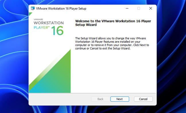 Install VMware Workstation Player 16 Free