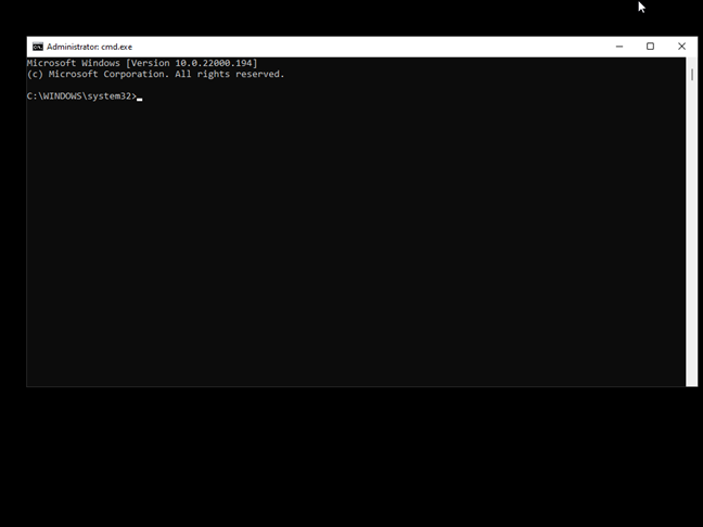 Safe Mode with Command Prompt in Windows 11