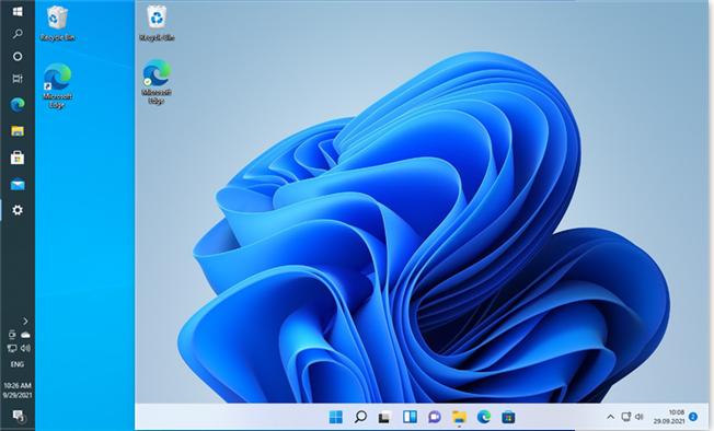 Windows 11's taskbar can't be moved