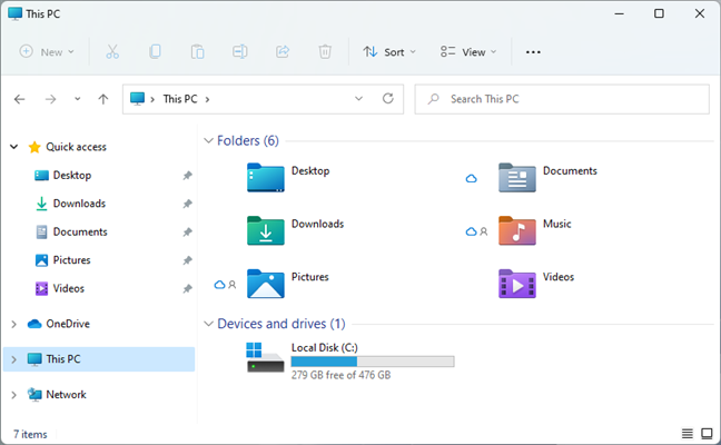 Windows 11 comes with new icons