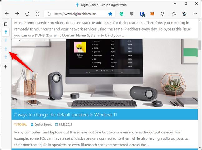 Microsoft Edge's Sleeping Tabs increase performance and save energy