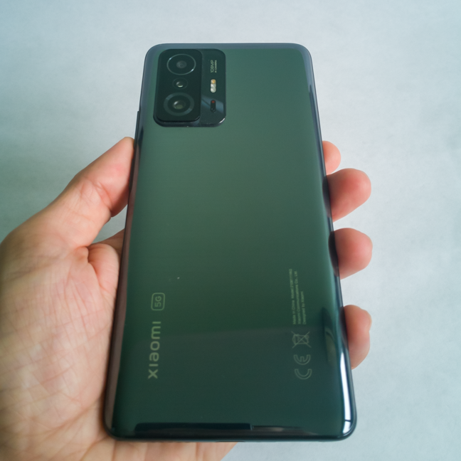 The back of the Xiaomi 11T